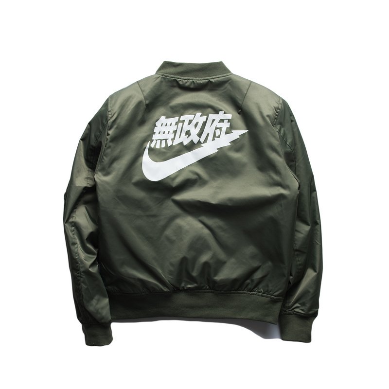 ccf50a052 Ma1 bomber jacket 2016 Spring Kanye West Yeezus Tour Pilot Anarchy Outerwear  Army Green Kanji Japanese Merch flight jacket-in Jackets from Men's Clothing  & ...