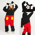 Super Natural Mickey and Minnie Animal Pajamas Cosplay Costumes Onesies Winter Women Adult Sleepwear For Christmas Mouse Clothes