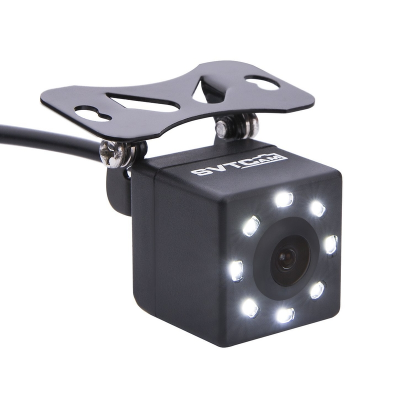 Image 2 - 8 LED Lights Car Rear View Camera Night Vision 170 Degree Waterproof Car Dash Camera Auto Reverse Parking Vehicle Camera-in Vehicle Camera from Automobiles & Motorcycles