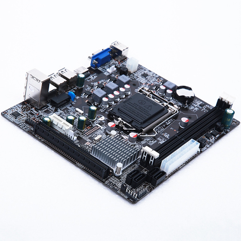 Lga 1155 carte mère pratique Stable pour Intel H61 Socket Ddr3 mémoire ordinateur accessoires carte de contrôle