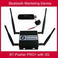 Большой дальности Bluetooth мобильные маркетинговые устройство с 3 Г/GPRS, автомобильное зарядное устройство, 4800 мАч батареи