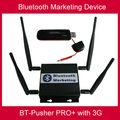 long range Bluetooth mobiles marketing device with 3G/GPRS,car charger,4800maH battery