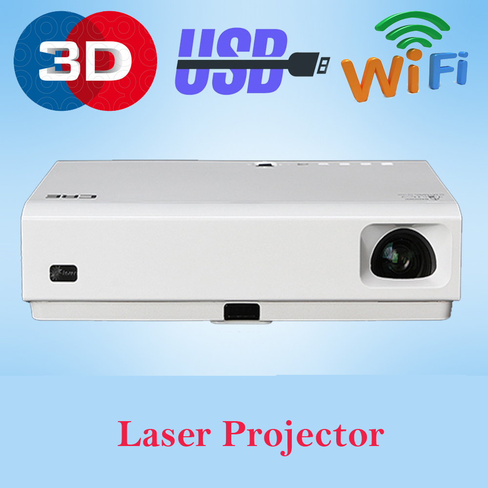 260 Multimedia 3000 Lumens Hd Led Projector Home Theater: Best Full HD 1080P 3D Projector LED Laser Multimedia Video