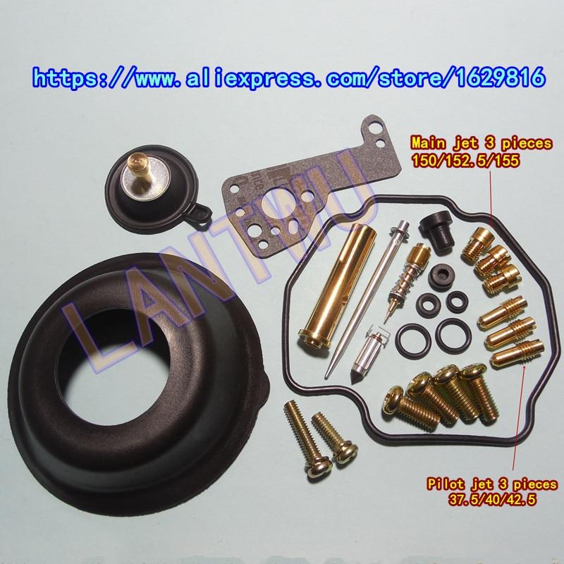 (1 Set Of $ 26)ym Vmax1200/vmx12 3jp/3uf Motorcycle Mikuni Carburetor Repair Kit Kit With Large And Small Diaphragm