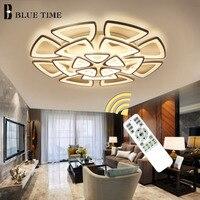 Новые светодио дный современные светодиодные потолочные светильники для домашнего освещения гостиная светодио дный лампа Lamparas De Techo освещ