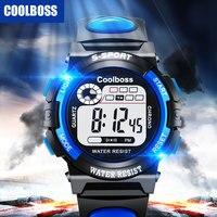 Sport Student Children Watch Kids Watches Boys Girls Clock Child LED Digital Wristwatch Electronic Wrist Watch