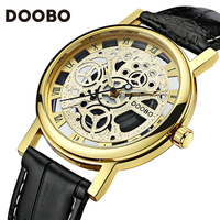 Rose Gold Wrist Watch Men 2017 Top Brand Luxury Famous Male Clock Quartz Watch Golden Wristwatch