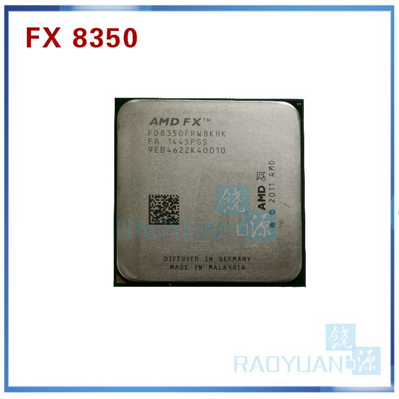 125W CPU FD8350FRW8KHK AMD FX 8350 4GHz Eight Core L3 8M Processor Socket AM3