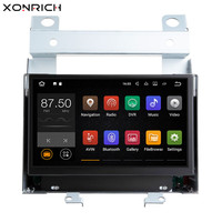 Xonrich Авторадио Android 8,1 DVD плеер автомобиля для Land Rover freelander 2 2007 2008 2010 2012 2011 2009 gps Quad CoreDAB DVR Wi Fi