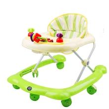 Adjustable Baby Walker Kids Toddler Trolley Sit-to-Stand Walker