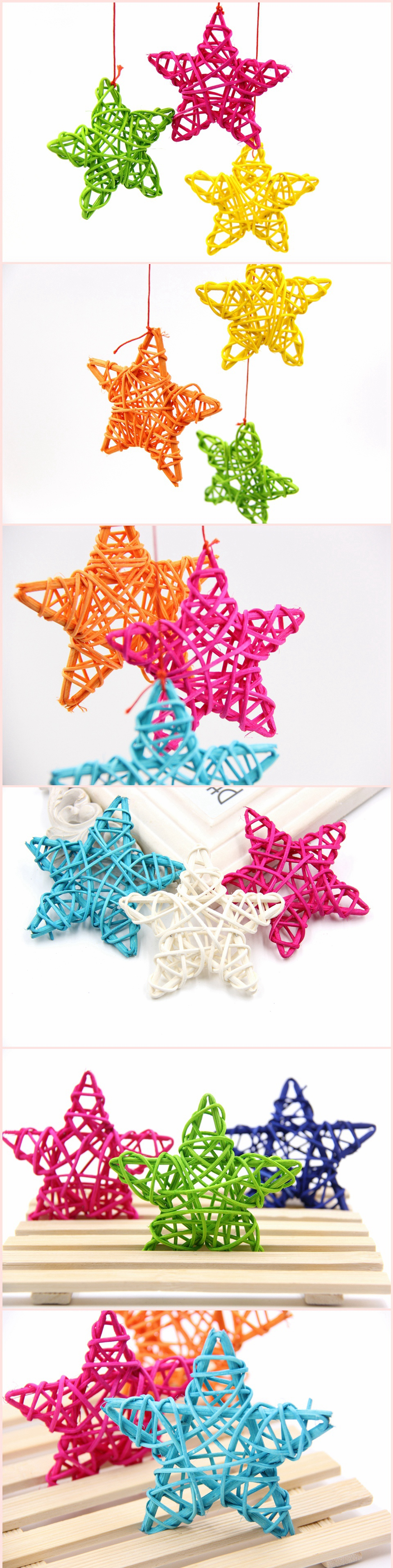 Rattan Star Decoration