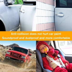 Image 5 - WHDZ 1Pcs/Pair 5M Self Adhesive Automotive Rubber Seal Strip Weatherstrip for Car Window Door edge anti collision rubber strip