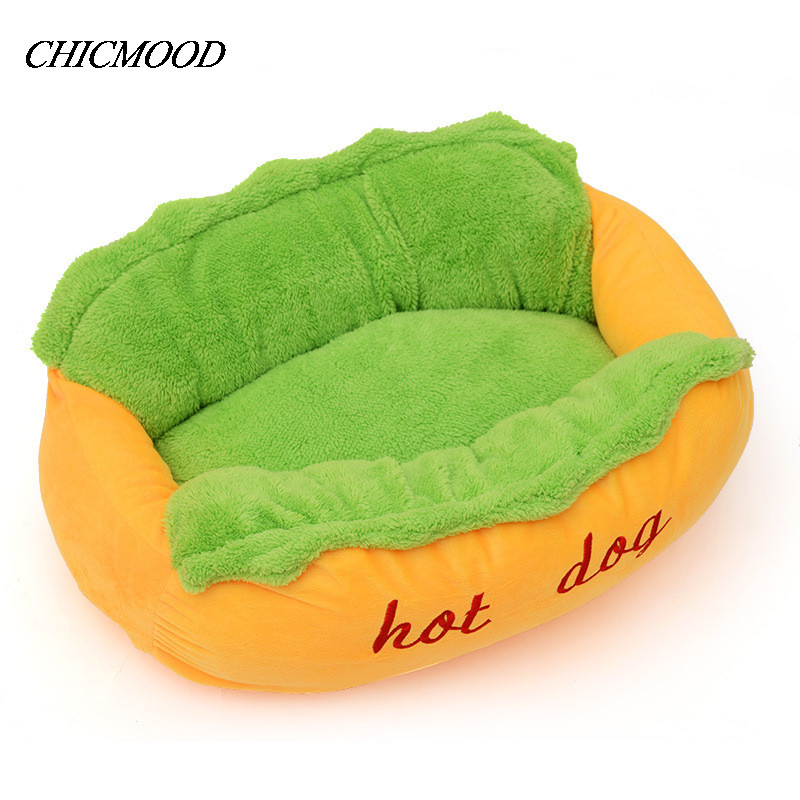 Hot Dog Bed Pet Winter Beds Fashion Sofa Cushion Supplies Warm Dog House Pet Sleeping Bag