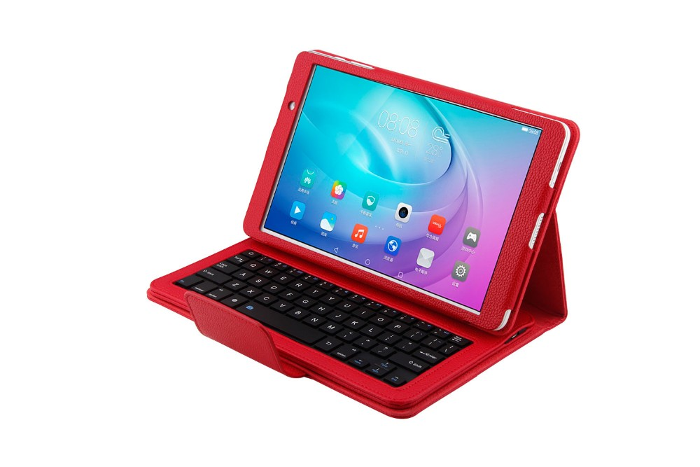 Russian/Hebrew/Spanish Wireless Bluetooth Keyboard + Leather Case Cover For Huawei MediaPad T2 Pro 10 FDR-A01W FDR-A03L Tablet for huawei mediapad t2 pro 10 0 fdr a01w fdr a03l flip cover case stand fundas 10 1 print protective skin for huawei t2 pro 10 0