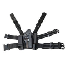 Military Equipment Tactical Glock 17 Gun Holster Airsoft Hunting Leg 19 22 23 31 32 Right Hand Thigh