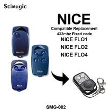 1 pcs AGRADÁVEL FLO1 FLO2 FLO4 substituição portão AGRADÁVEL código fixo de controle remoto da porta da garagem 433 mhz controle remoto