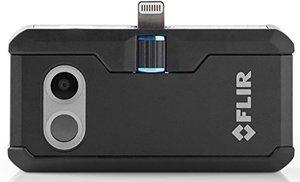 Image 1 - FLIR ONE PRO LT Cámara de imagen térmica, dispositivo de visión nocturna con visión infrarroja, 80x60 píxeles, para iOS o tipo C