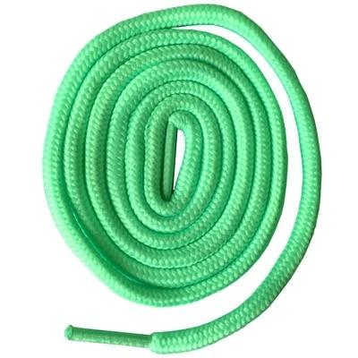 200 см очень длинные круглые шнурки Шнуры Веревки для ботинок martin спортивная обувь - Цвет: 22 apple green