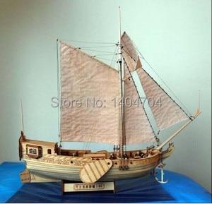 Image 2 - NIDALE modelo de velero de madera, modelo de barco real holandés 1678, modelo de madera, instrucciones en inglés
