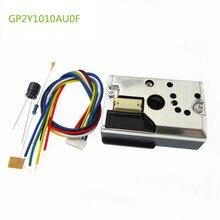 1PCS GP2Y1010AU0F Compact Optical Dust Sensor Smoke Particle Sensor With Cable GP2Y1014AU0F