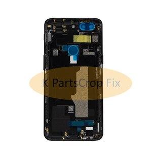 Image 4 - Original ด้านหลัง OnePlus A5010 5T ฝาครอบด้านหลังเคสประตู One Plus เปลี่ยน OnePlus 5T ฝาครอบ