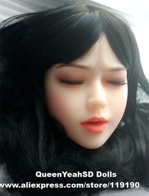 Muñeca del sexo de amor calidad superior cabeza llena del amor de del silicón, muñeca realista sexy muñeca, juguete del sexo para los hombres con oral 5f4bb7