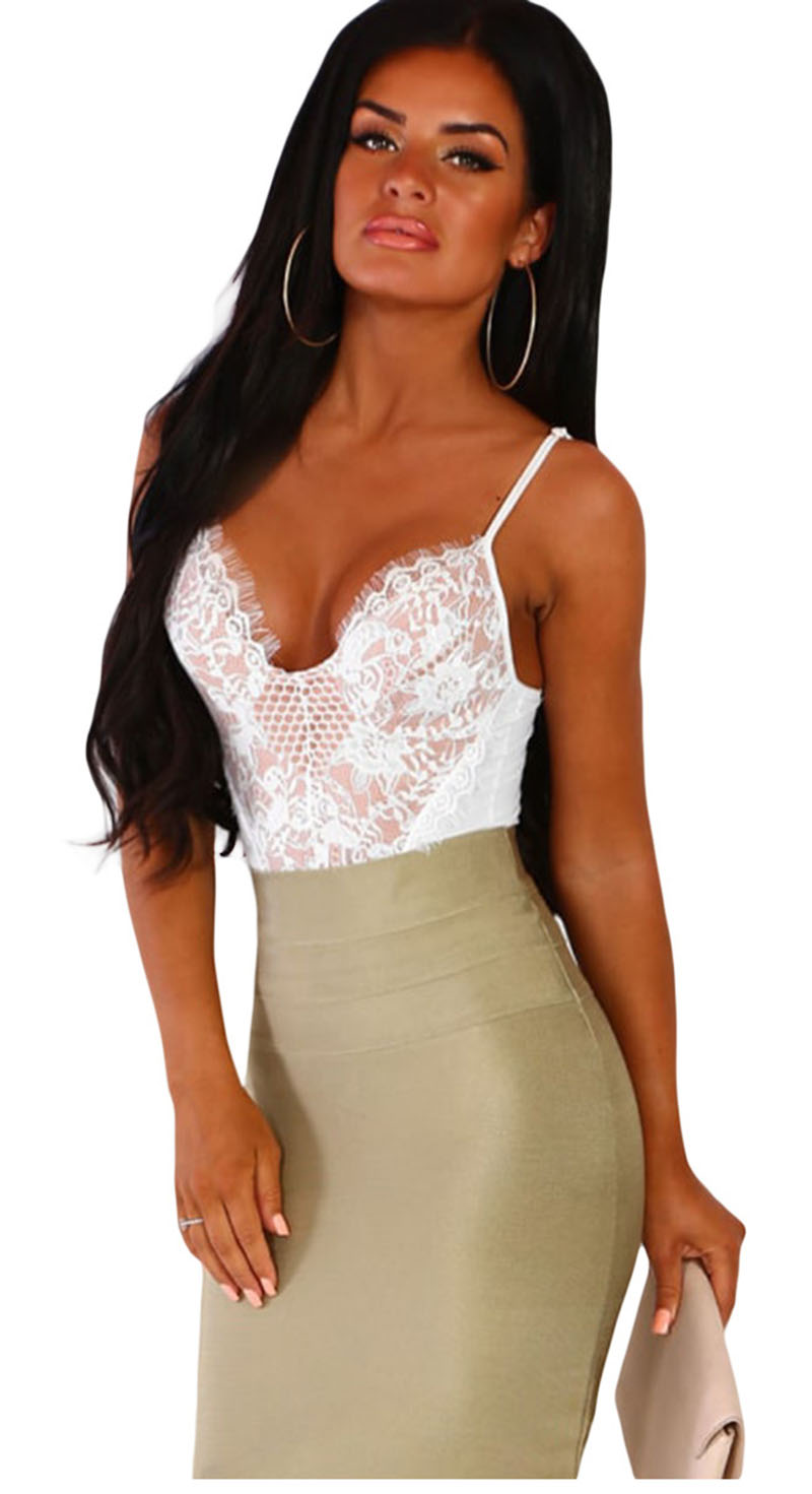 White-Forever-Flawless-Red-Lace-Bodysuit-LC32377-1-1