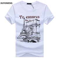 KUYOMENS Men t-shirt Plus Size Tee Shirt Homme Summer Short Sleeve Casual Men's T Shirts Male TShirts Camiseta 3D T shirt Homme 1