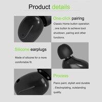 מכשיר הקשר מכשיר הקשר אוזניית Bluetooth K / M סוג מיני אוזניות כף יד שני הדרך רדיו אלחוטי אוזניות עבור מוטורולה Baofeng 888S UV5R (3)