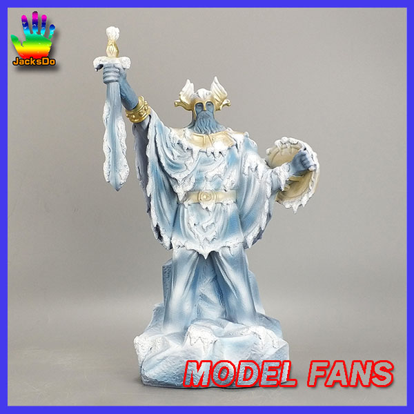 MODEL FANS IN-stock jacksdo saint seiya 31cm odin gk resin statue toy figure(only odin not contain others) model fans saint seiya bronze saint 55cm shiryu mount lu rise dragon gk resin statue figure for collection
