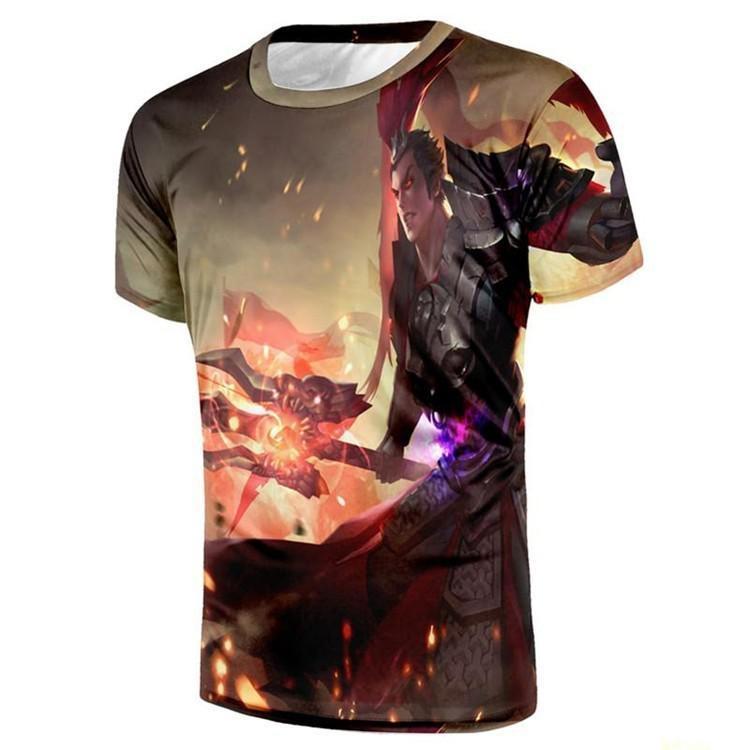 Composite Bats ZEESHANT Men/women Game T-shirt Unisex 3D Cartoon Print Characters Lovely Baseball Jersey Summer Top Tee in Men's T-Shirts XXXL