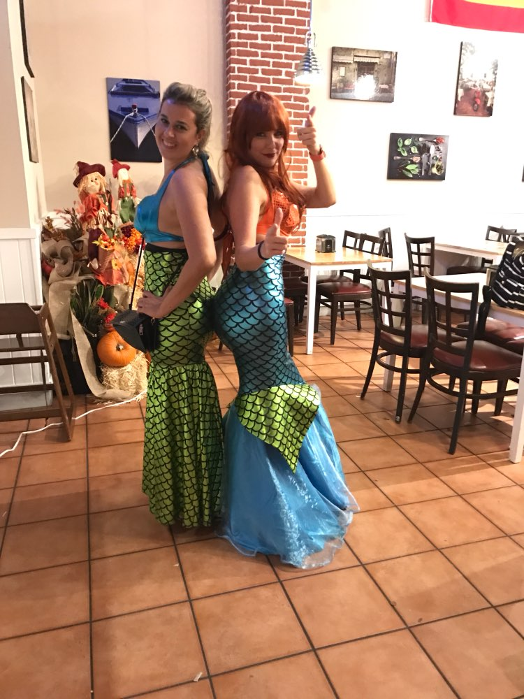 Jualan Hot Wanita Mermaid Kostum Halloween Cosplay Mermaid Pakaian - Kostum karnival - Foto 5