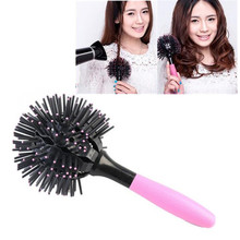360 degree Ball Styling korean bomb curl 3D Hair Brushes make-up Blow Drying Detangling Heat Resistant Hair Comb styling tool BO