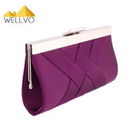 2015 Noble Evening Bag Women Clutch Purse Bride Handbag Lady Crossbody Bags Dress Party Sequined Wedding