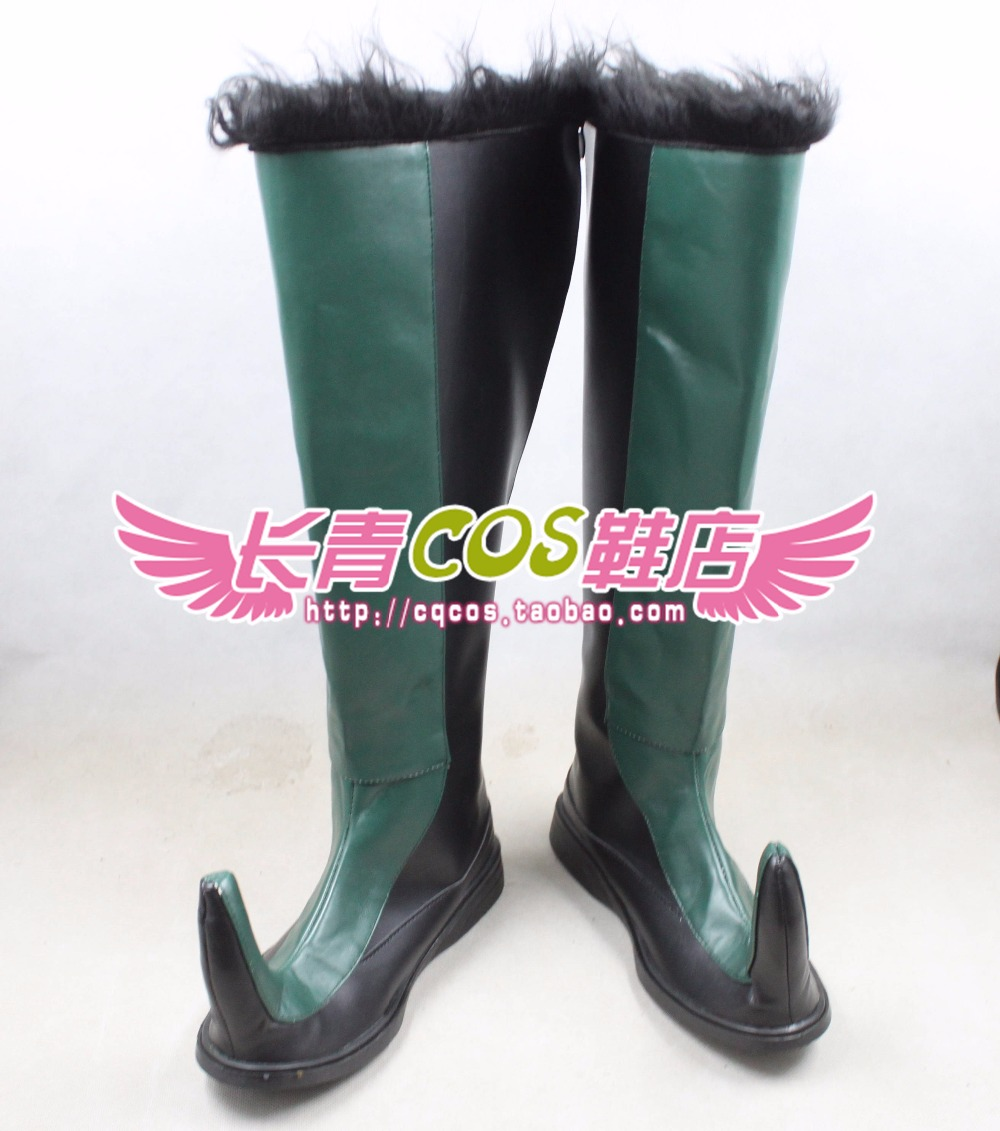 Kristoff cosplay Shoes Boots Custom Made 0673