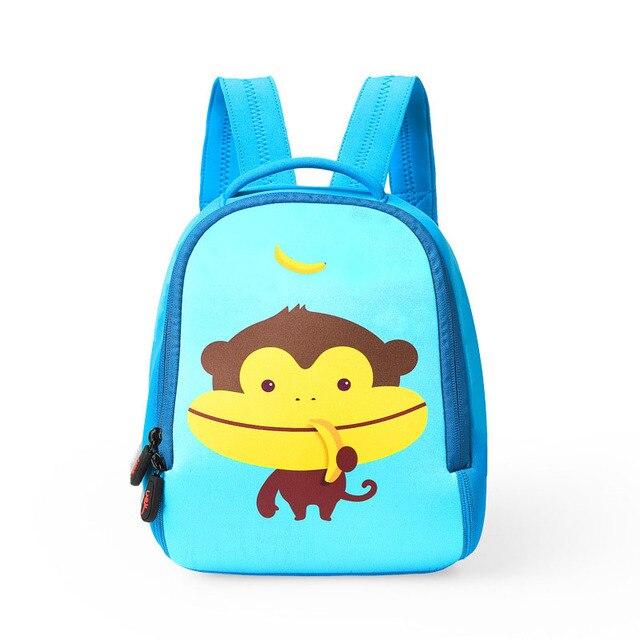 2017 New Waterproof Cartoon Animal Backpacks/ Kids Baby Bags Backpacks For Children/Kid School bags/Satchel For Boys and Girls