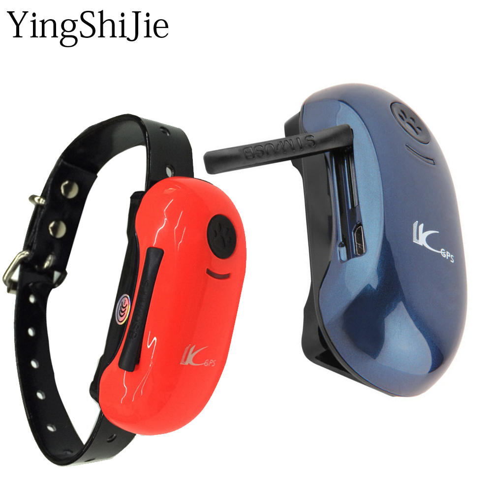 YingShiJie Waterproof GPS Tracker Dogs Pet Collar Anywhere Monitor Anti theft alert vehicle tracking locator rastreador