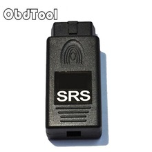 OBDTOOL 15% OFF Promotion High quality OBD2 Airbag Resetter SRS with TMS320 FREE SHIPPING