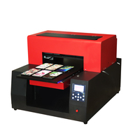 Automatic A3 UV flatbed printer Wood Printing Machine Uv Flatbed Printer For Card Glass Ceramic bottle