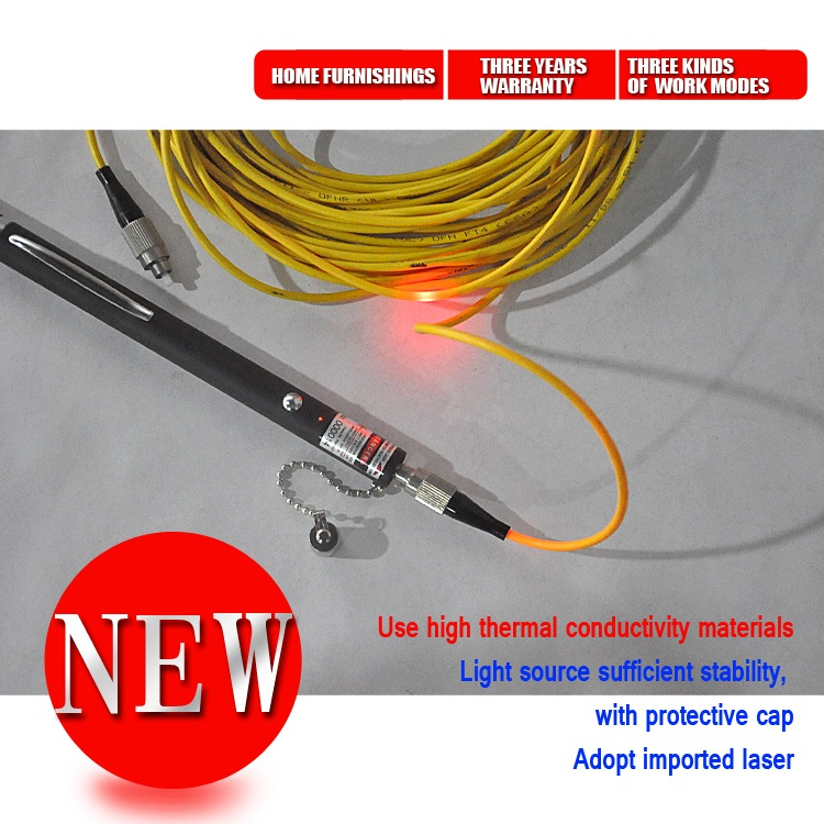 VFL650 5 20mw Visual Fault Locator Fiber Optic Cable Tester
