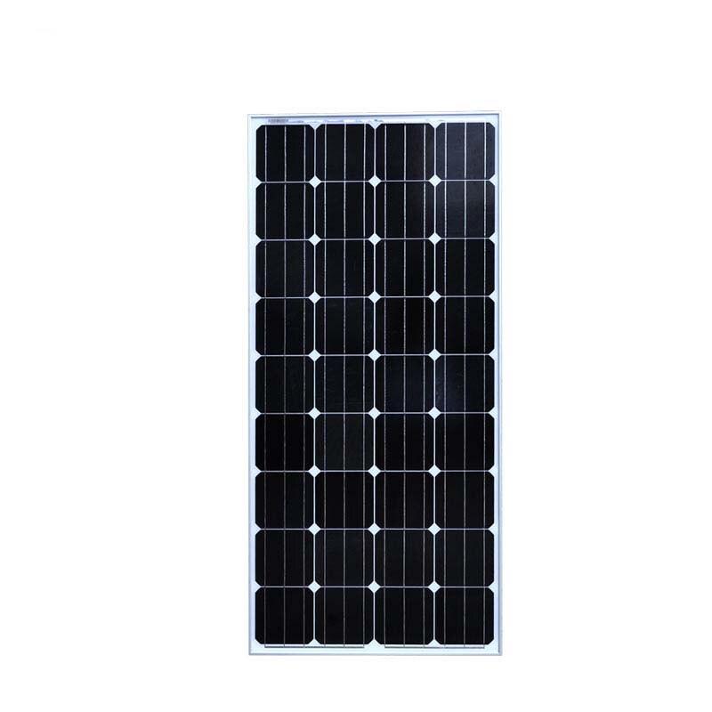 Solar Panel 12v 150W China Monocrystalline Photovoltaic Panels Solar Battery China Charger Motorhome Autocaravanas Boats