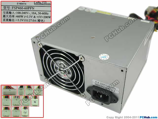 Emacro FSP Group Inc FSP460-60PFN Server Power Supply 460W ATX PSU Inspur NP370 NP350REmacro FSP Group Inc FSP460-60PFN Server Power Supply 460W ATX PSU Inspur NP370 NP350R