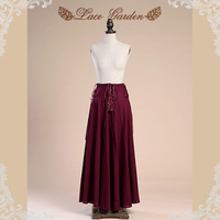 Ladies' Trendy Fashion Lace Garden Skirt with Stripped Design and Pure Look