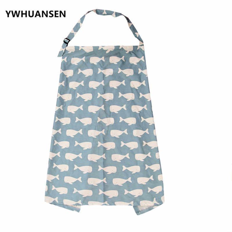 Ywhuansen 100*70 Cm Leuke Cartoon Pasgeboren Baby Cape Voor Voeden Voor Zuigelingen Mum Verpleging Borstvoeding Cover Moeder Borstvoeding schort