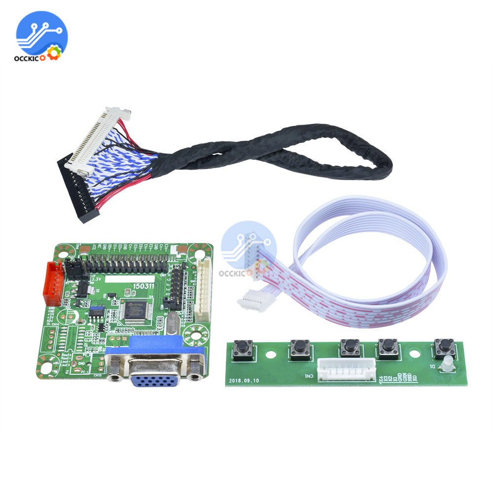 MT6820-B LVDS LCD Monitor Screen Driver Controller Board 5V 10