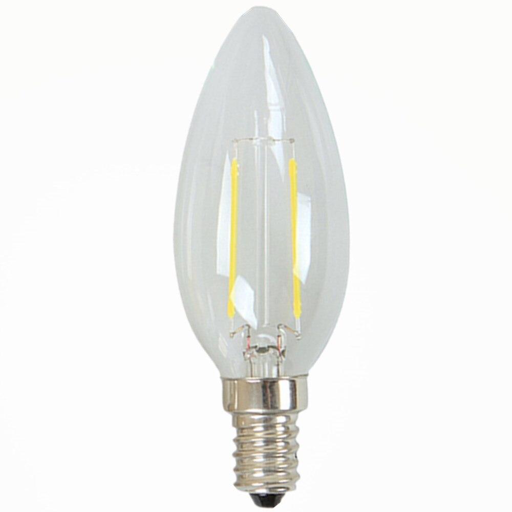 tohda e14 3w 200lm 6500k 13 led white light candle shaped. Black Bedroom Furniture Sets. Home Design Ideas