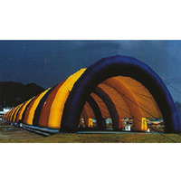 Popular custom Giant Inflatable colorful model tents /wedding Tent/ Inflatable Camping Tent For Camping