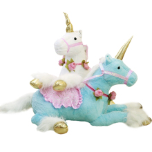 1pc 100cm 3 colors Cute Unicorn Horse Plush Toys huge Stuffed Animal Pony Doll Photography props