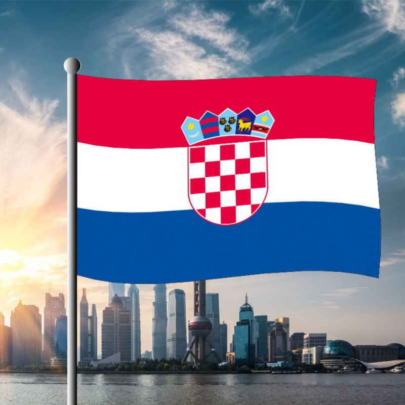 1 Pieces Croatia National Flag 60*90cm Hanging Flags Outdoor Activity/Parade  Banner For Festival World Soccer Cup