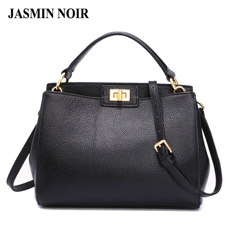 2017 Fashion new Women Leather Handbags Litchi ladies messenger bag crossbody bag Brand designer tote bag